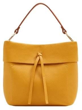 Violeta BY MANGO Pebbled mini shopper bag
