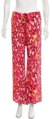 Alexis Flared Printed Pants