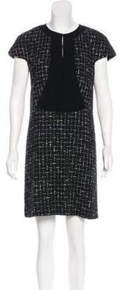Balenciaga Tweed Sheath Dress