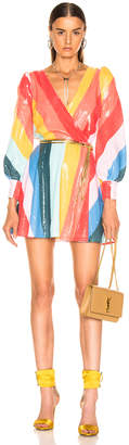 Olivia Rubin Kylie Dress in Rainbow Bright | FWRD