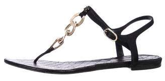 Chanel Chain-Link CC Sandals