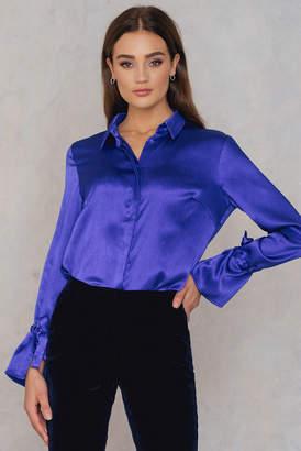 Rut & Circle Rut&Circle Maci Pleat Shirt Blue