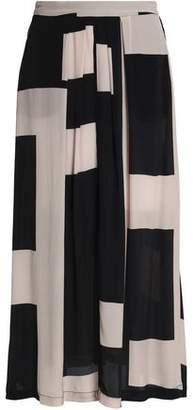DAY Birger et Mikkelsen Printed Crepe Midi Skirt