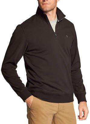 Izod Mens Long Sleeve Quarter-Zip Pullover