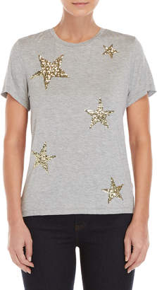 Romeo & Juliet Couture Romeo + Juliet Couture Sequin Star Tee