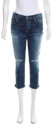 Citizens of Humanity Mid-Rise Distressed Jeans