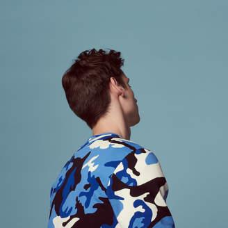Sandro Camouflage printed sweatshirt