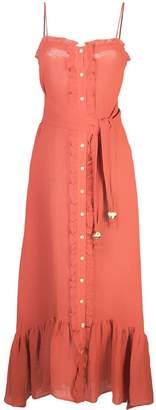 Lisa Marie Fernandez front button maxi dress