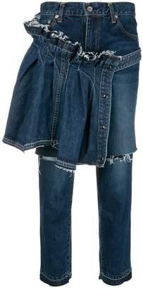 Sacai straight leg jeans