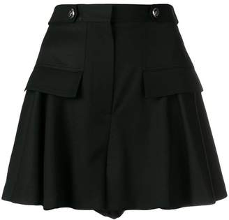Alexander McQueen structured mini skirt
