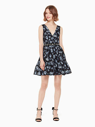 b2280a9ef556 Kate Spade Prairie Rose Jewel Dress, Adriatic Blue - Size 10