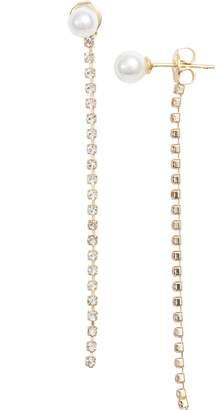 Melinda Maria Amy Imitation Pearl Earrings