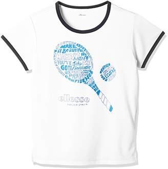 Ellesse (エレッセ) - (エレッセ) ellesse テニスウェア ラケットTシャツ EW18102 [レディース] EW18102 W ホワイト (W) 140