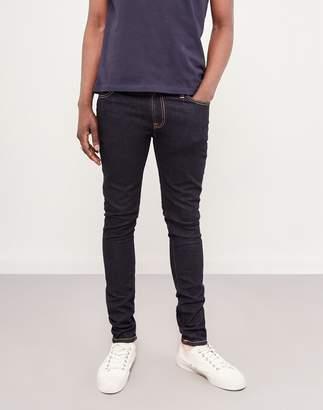 Nudie Jeans Skinny Lin Dry Deep Orange