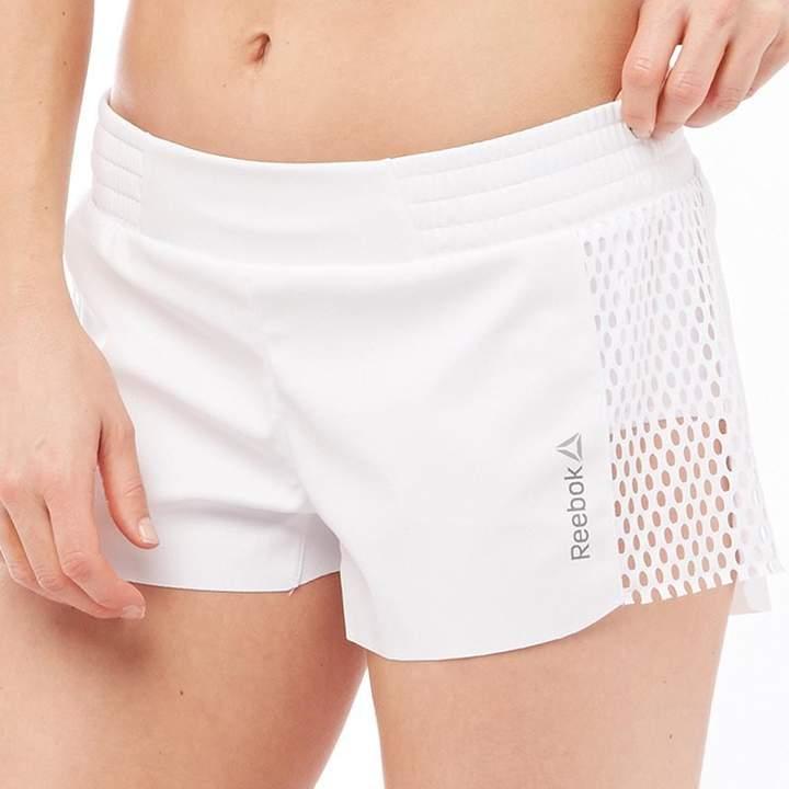 Damen Speedwick Cardio Shorts Weiß