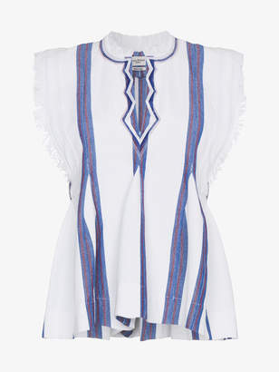 Etoile Isabel Marant Sleeveless Striped Top