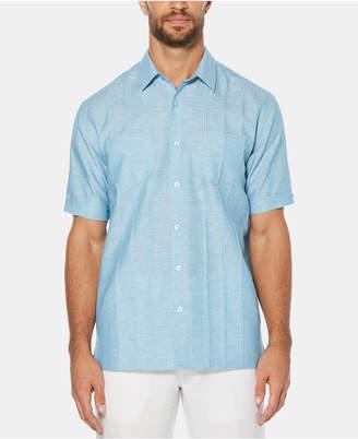 Cubavera Men Linen Blend Pintucked Shirt