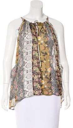 Isabel Marant Printed Silk Top