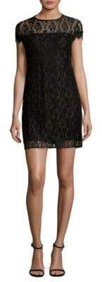 Supply & Demand Floral Lace Shift Dress