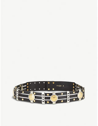 Maje Amini leather belt