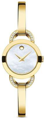 Movado Rondiro Diamond Watch, 22mm