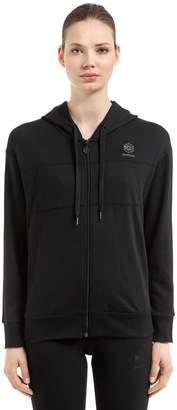 Hooded Zip-Up French Terry Sweatshirt