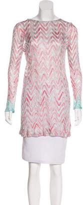 Missoni Long Sleeve Patterned Tunic w/ Tags