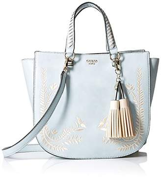GUESS Nessa Embroidered Satchel