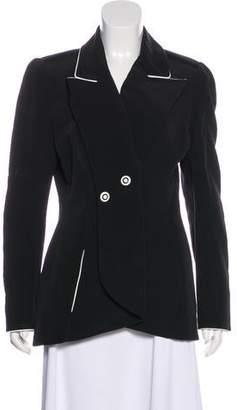 Karl Lagerfeld Paris Vintage Woven Structured Blazer