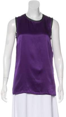 Dolce & Gabbana Silk Sleeveless Top