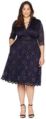 Kiyonna Mon Cherie Lace Dress Women's Dress