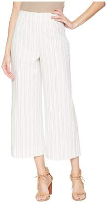 Rebecca Taylor Stripe Crop Pants Women's Casual Pants