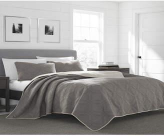 Eddie Bauer Axis Cinder Full/Queen Quilt Set Bedding