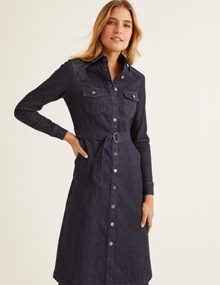 Boden Lena Denim Shirt Dress