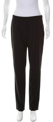 Issey Miyake Wool High-Rise Pants