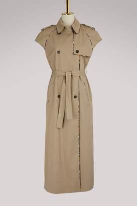 Stella Jean Short sleeve trench coat