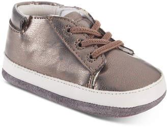 Robeez Baby Girls Mini Quinn Copper Shoes