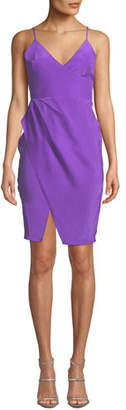 Amanda Uprichard Midtown Sleeveless Silk Dress