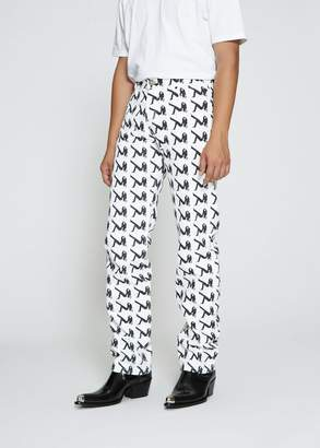 Calvin Klein Jeans EST. 1978 Narrow All Over Print Jean