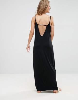 ASOS Maxi Dress With V Back $35 thestylecure.com