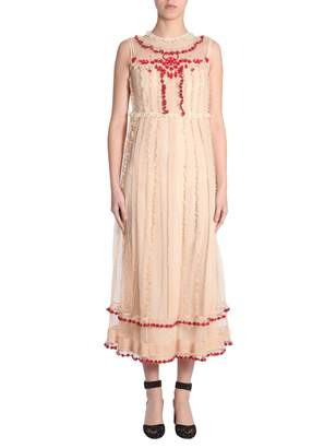 At Italist Red Valentino Long Dress