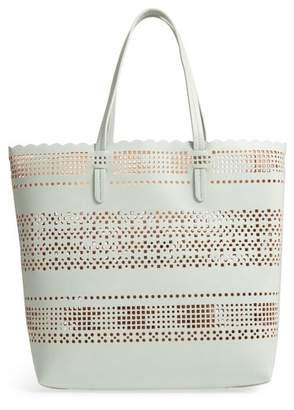 Chelsea28 Casey Geometric Cutout Faux Leather Tote & Pouch