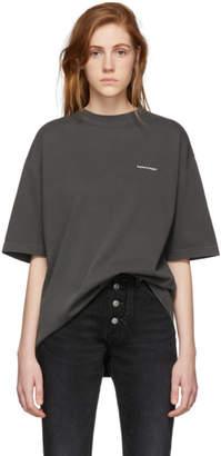 Balenciaga (バレンシアガ) - Balenciaga ブラック オーバサイズ クラシック T シャツ