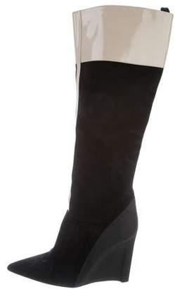 Derek Lam Knee-High Colorblock Boots