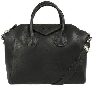 Givenchy Antigona Sugar Goatskin Satchel Bag | w/Silver Hardware | Medium