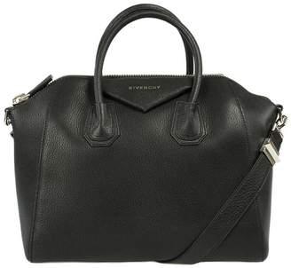 Givenchy Antigona Sugar Goatskin Satchel Bag | w/ Silver Hardware | Medium