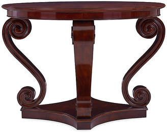 Ralph Lauren Home One Fifth Scroll Hall Table - Classic Mahogany