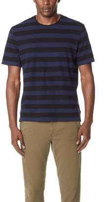 Vince Striped Short Sleeve Tee