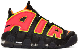 Nike Black Air More Uptempo Sneakers