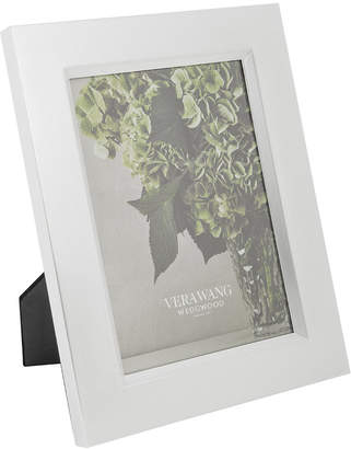 Vera Wang Wedgwood Grosgrain Silver Photo Frame
